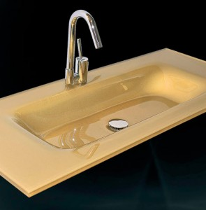 Glass wash basin n-714