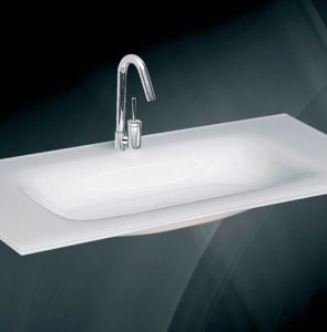 Glass wash basin n-730