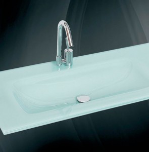 Glass wash basin n-731